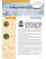 Lettre d'information n°20 Hiver 2018